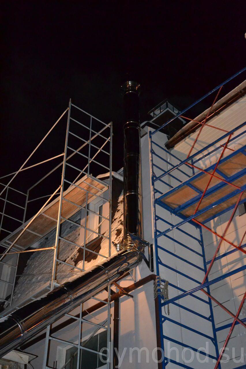 Цены на демонтаж дымоходов труба дымохода для твердотопливного котла